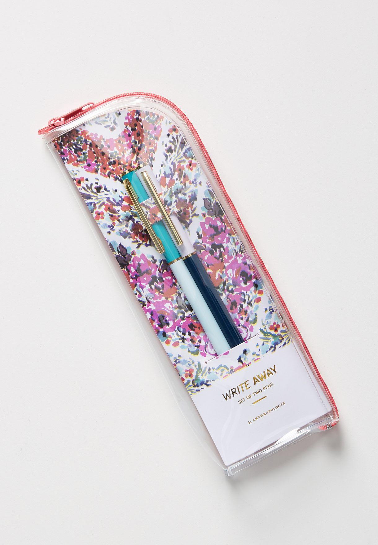 مجموعة من 2 قلم