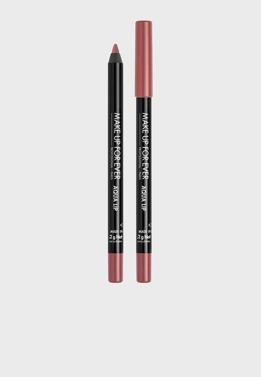قلم شفاه اكوا المقاوم للماء ساتين روز