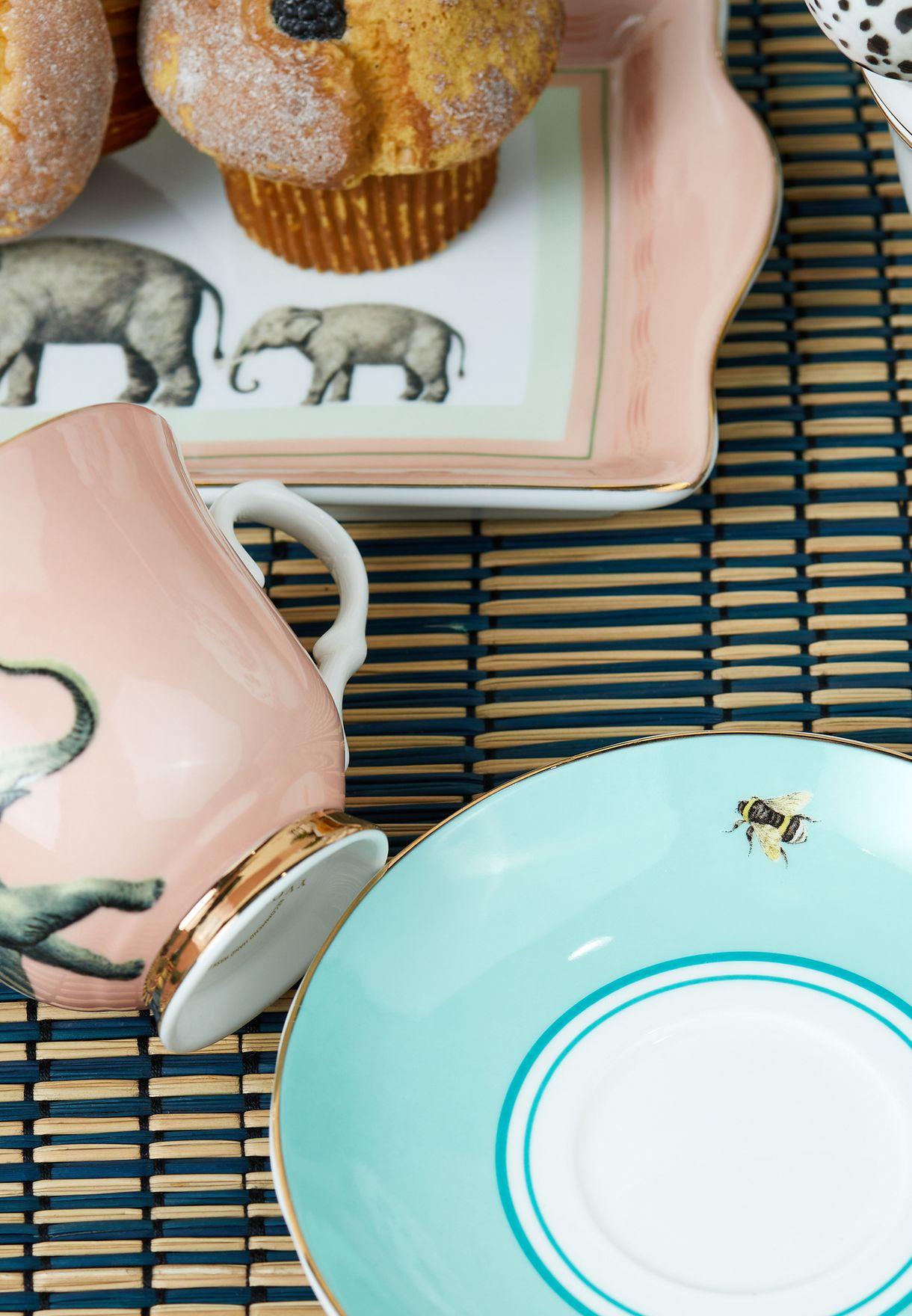 Teacup & Saucer Elephant