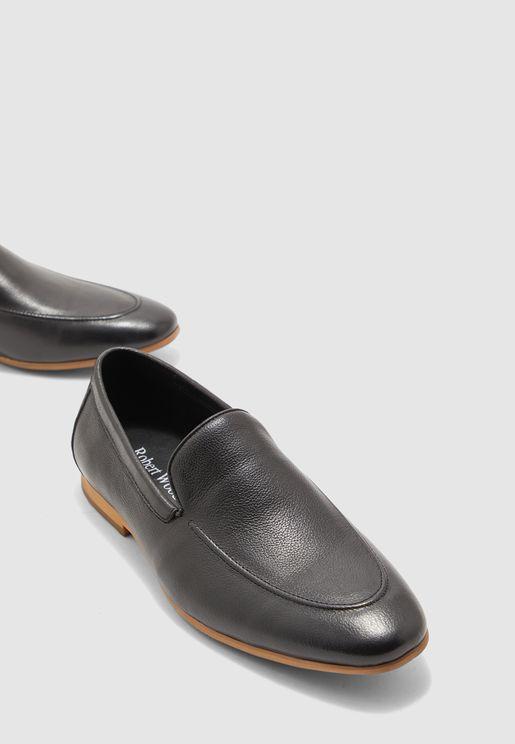 حذاء جلد رسمي