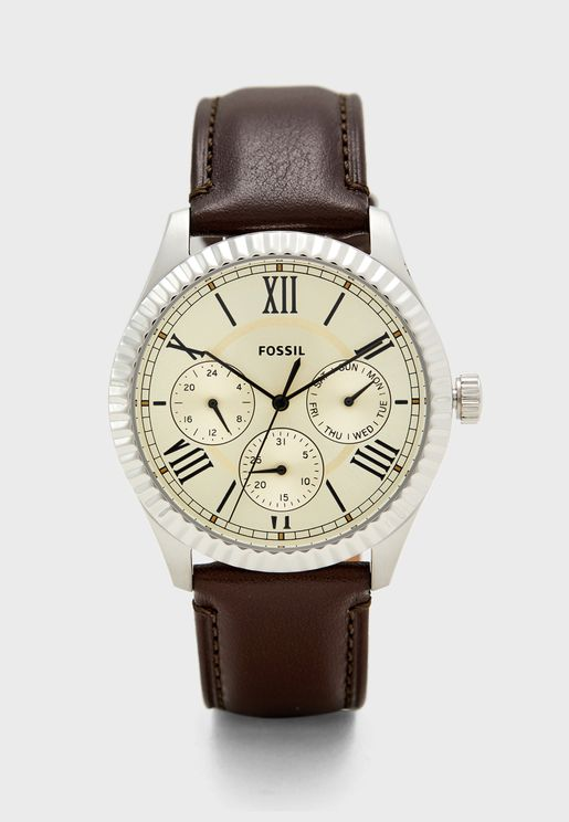 Round Dial Analog Watch