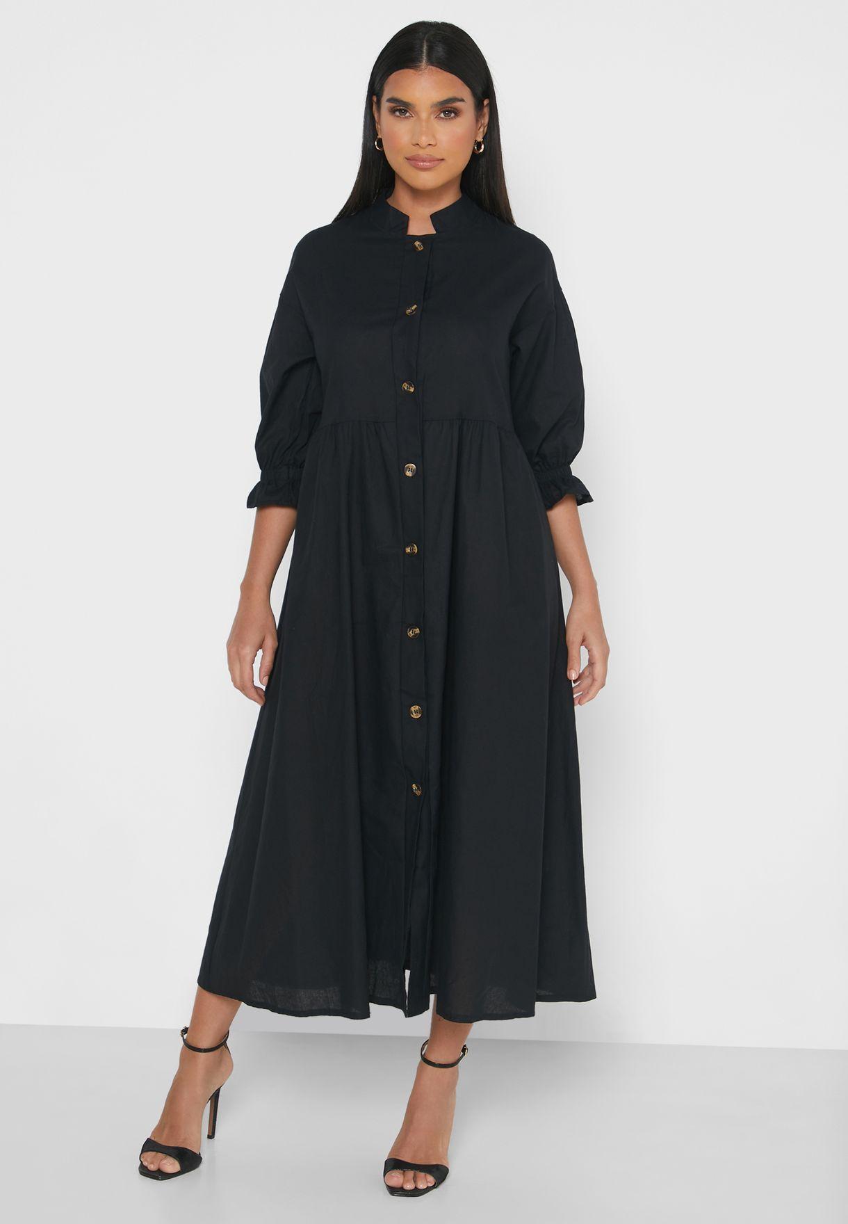 Shirt Maxi Dress