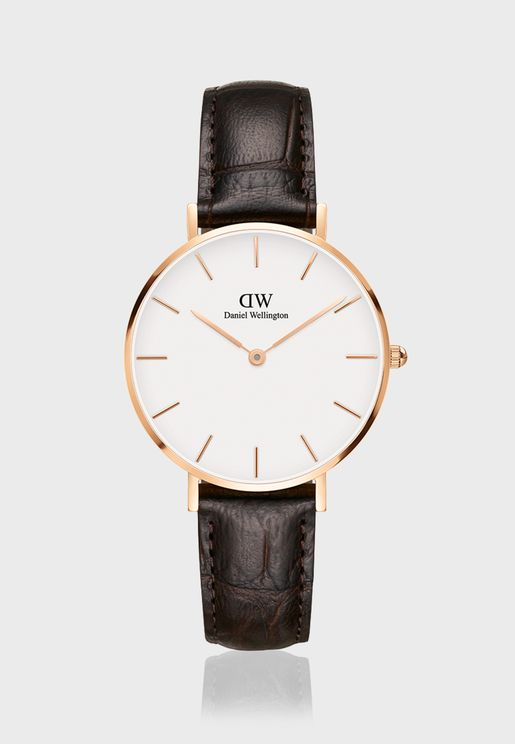 Petite York RG White 32mm Watch