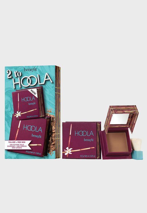 Bronzer Bash Hoola BOP Booster Set