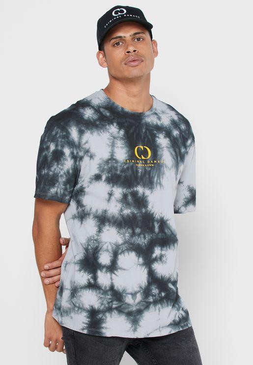 Splash Tie Dye T-Shirt