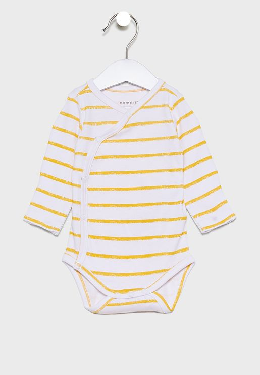 Kids Striped Bodysuit