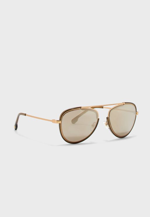 0VE2193 Top Bar Aviator Sunglasses