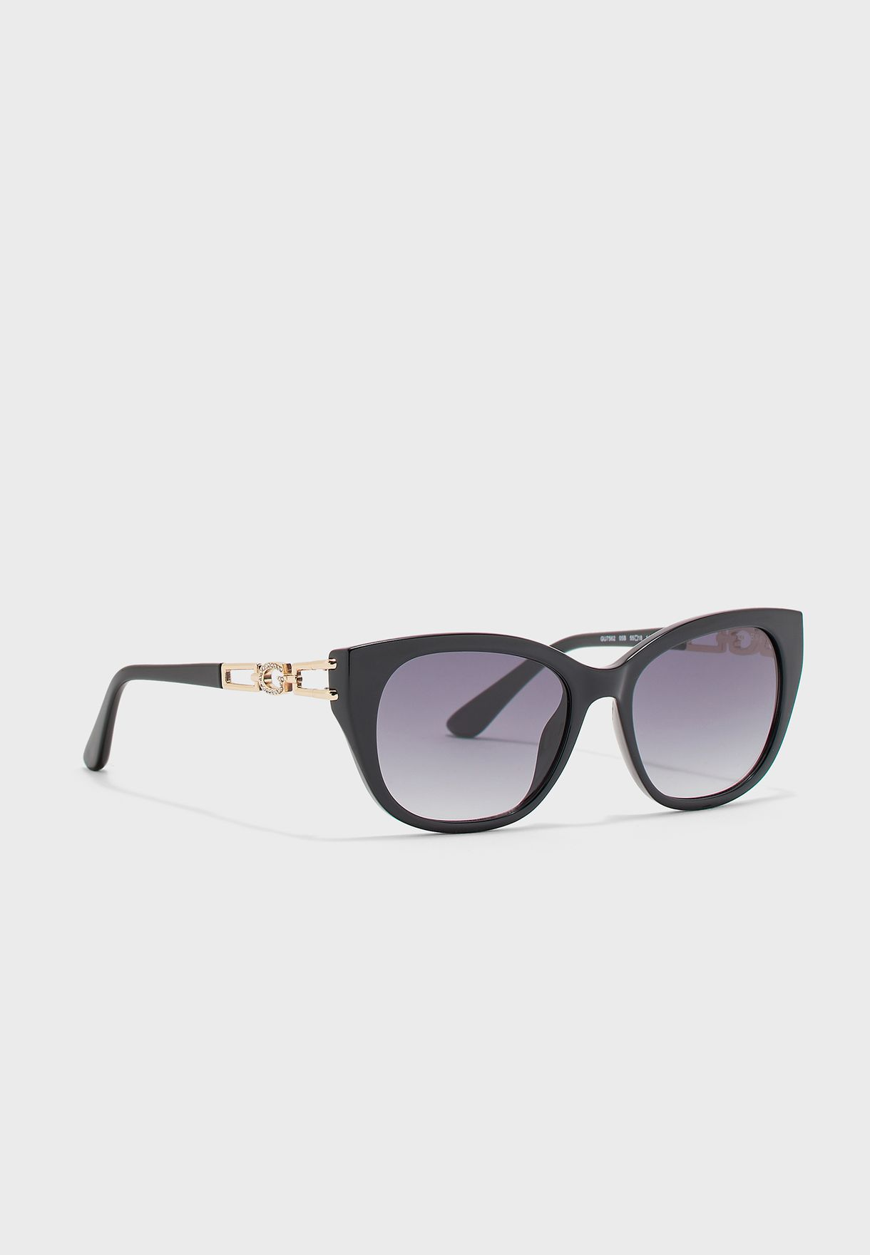 Full-Rimmed Cat Eye Sunglasses