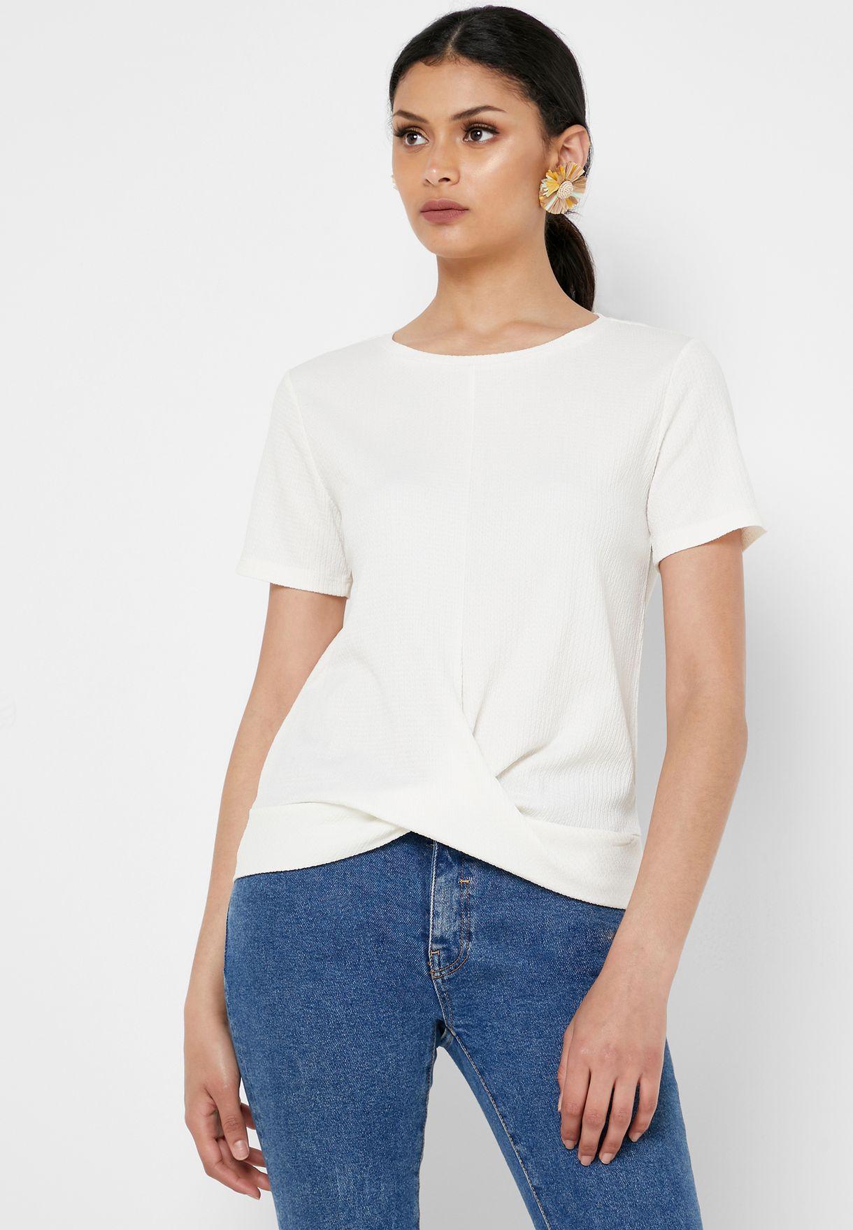 Front Twist T-Shirt