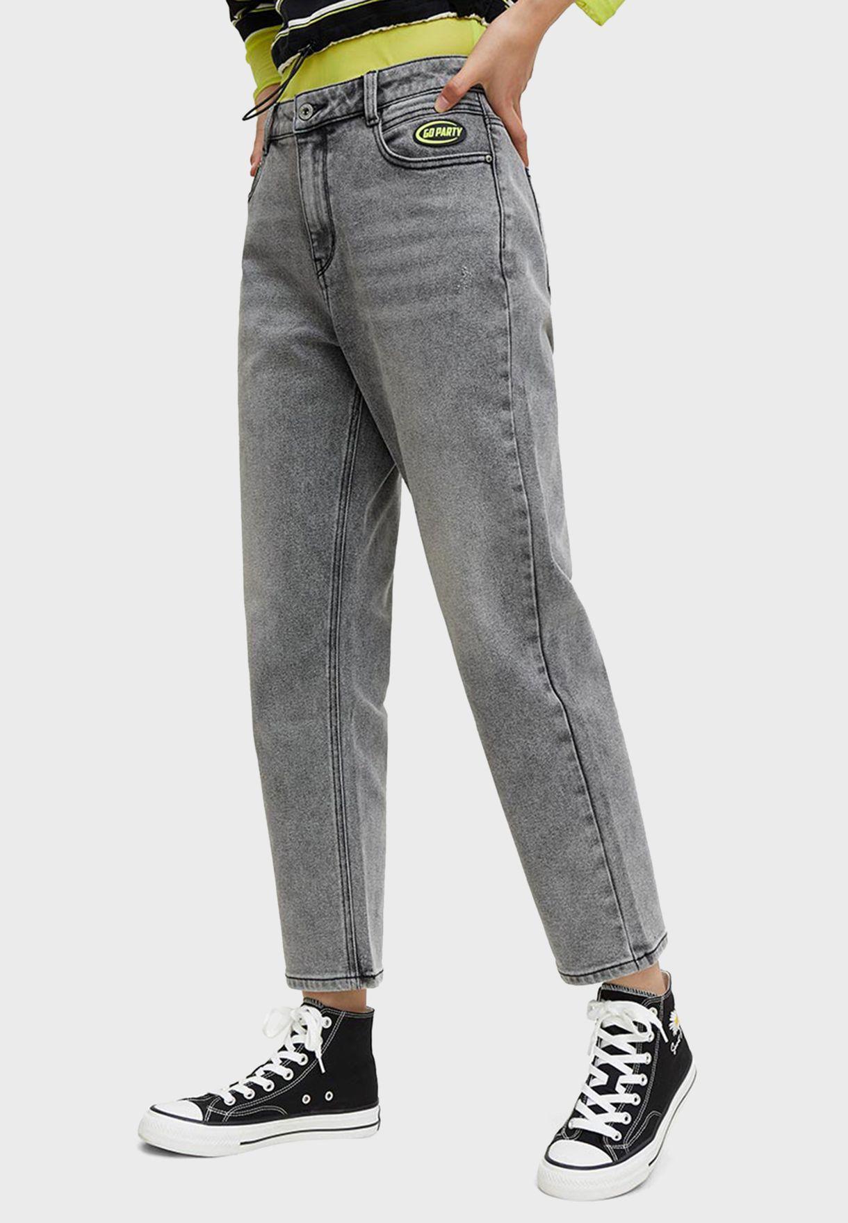 Washed Slim Jeans