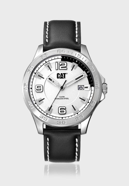 Boston Date Analog Watch