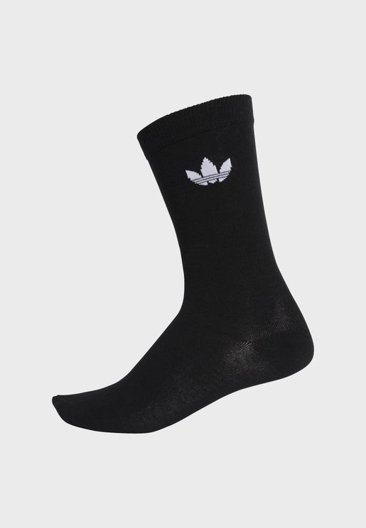Kids Trefoil Crew Socks