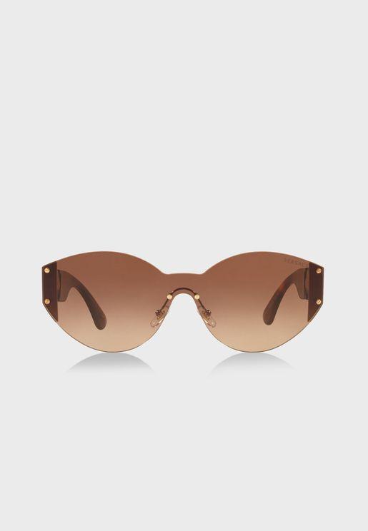 نظارة شمسية بأذرع مرصعة