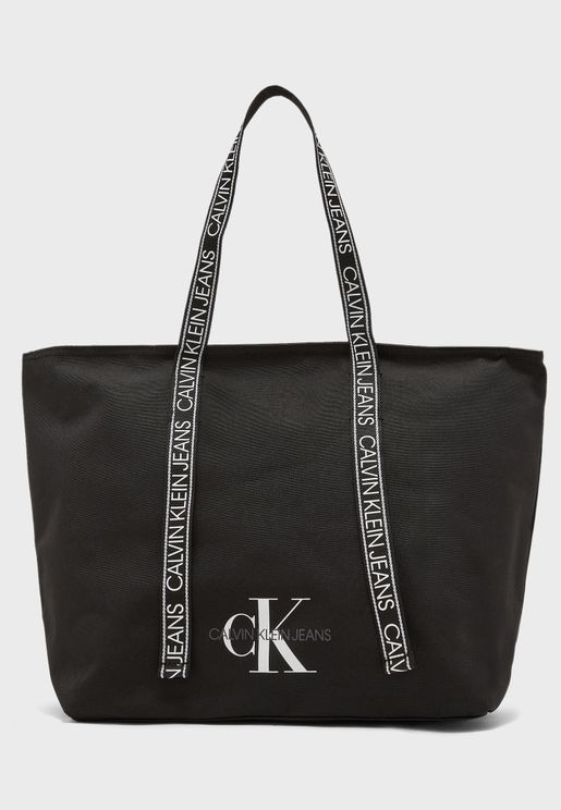 Logo Belt Shopper