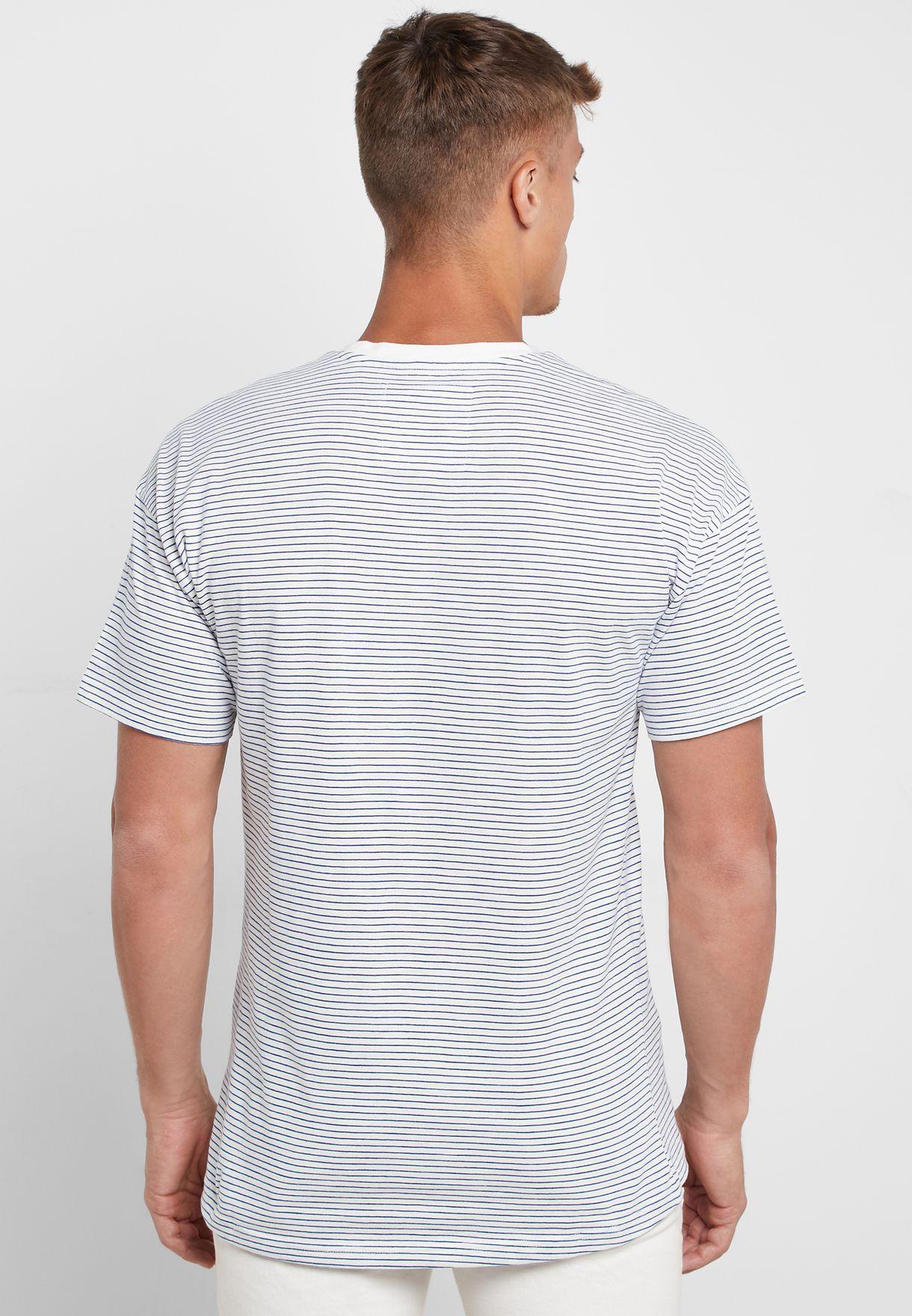 Phil Drop Shoulder Crew Neck T-Shirt