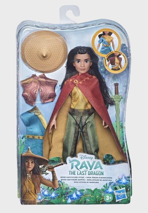Disney Princess Fashion Doll - Raya