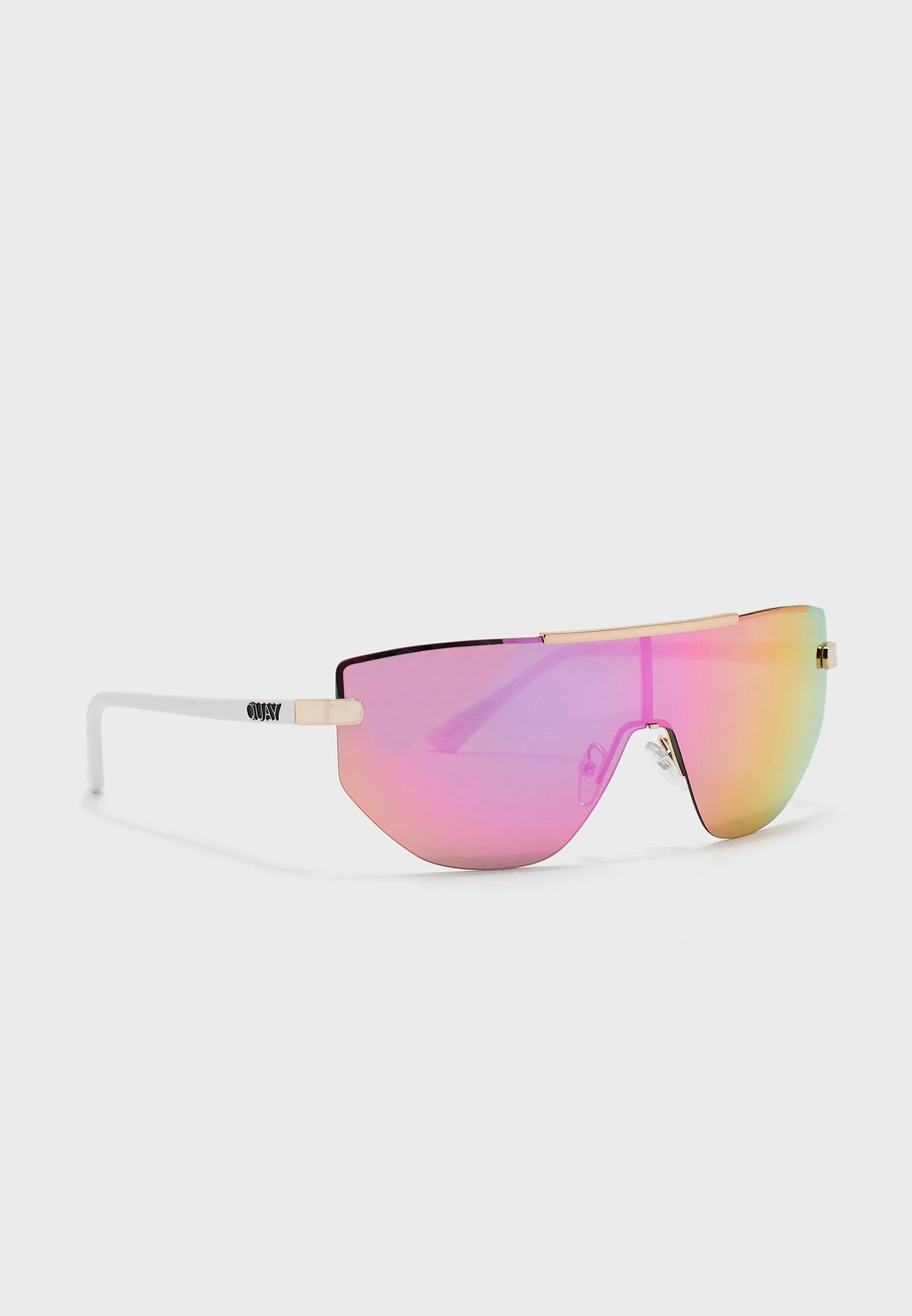 On The Edge Reflective Sunglasses