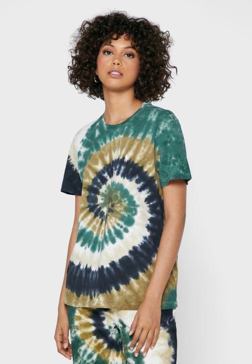 Graphic Round Neck T-Shirt