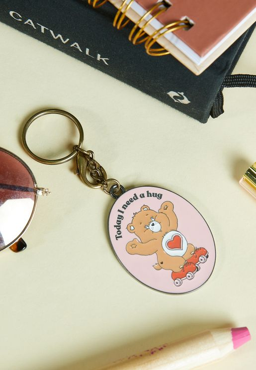 Care Bears Enamel Keyring