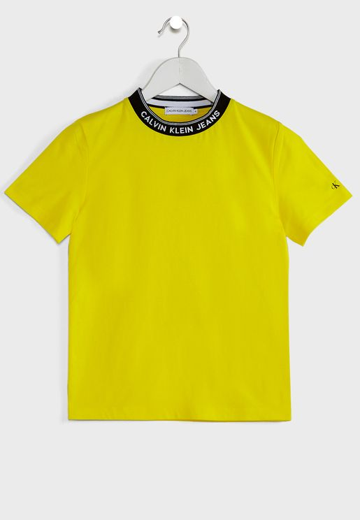 Kids Intarsia T-Shirt