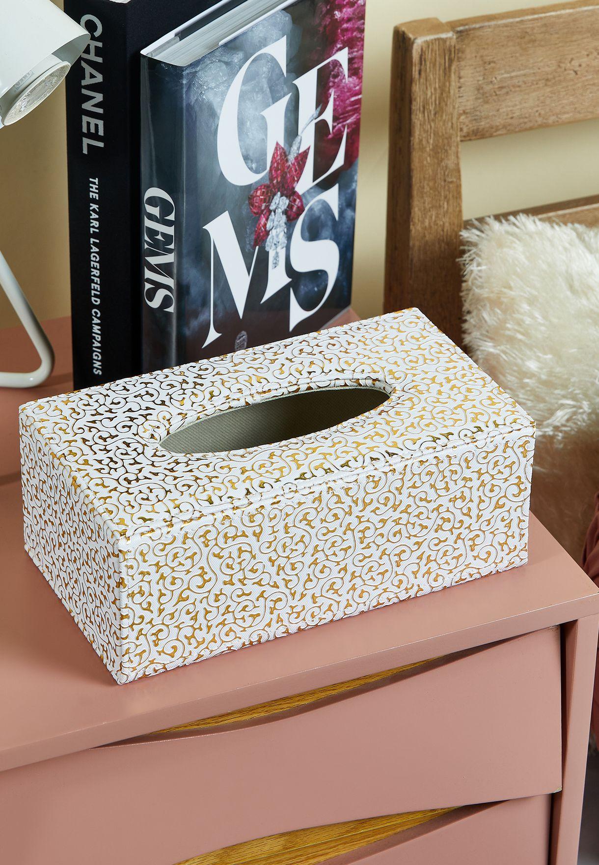 صندوق مناديل ورقية