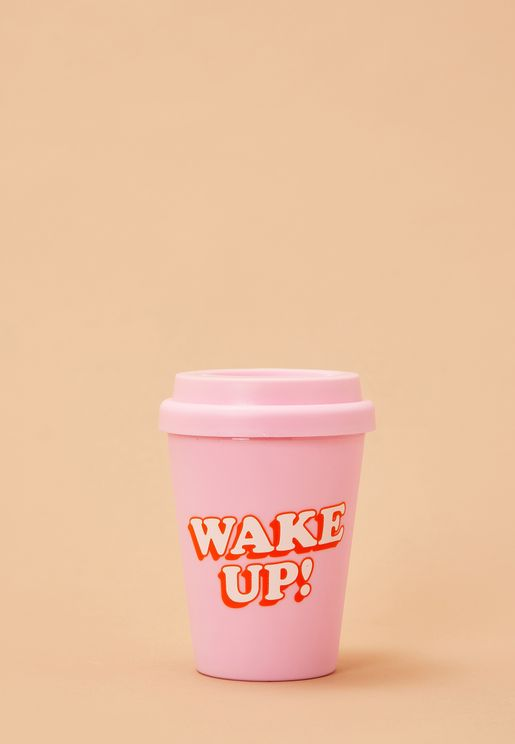 Travel Mug - Wake Up