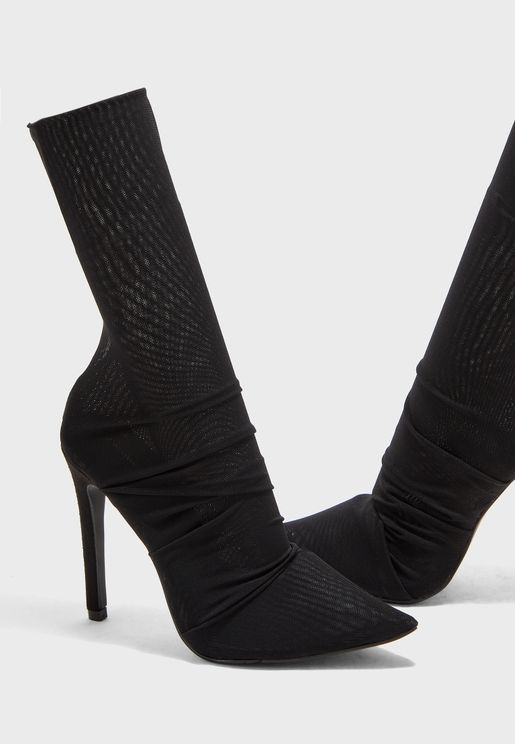 Noir Stilettos Boot