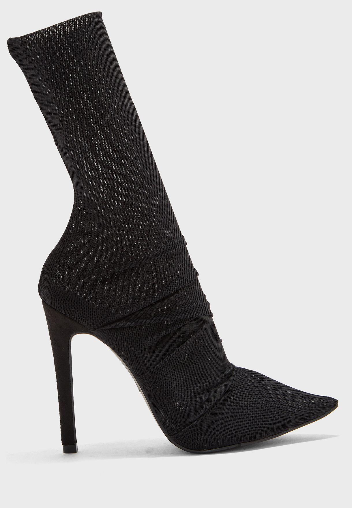 Noir Stilettos Boot