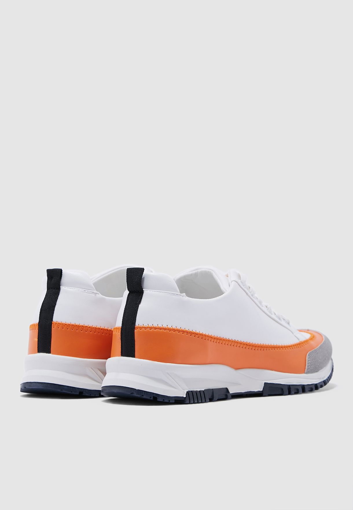 Chunky Color Block Sneakers