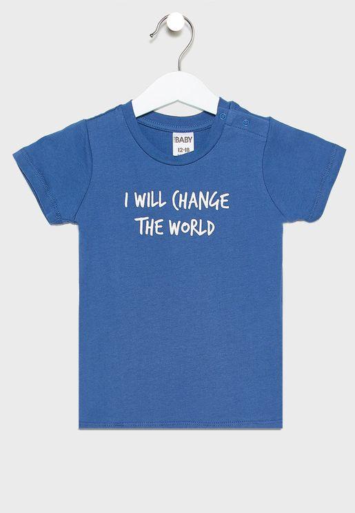 Infant Change The World T-Shirt