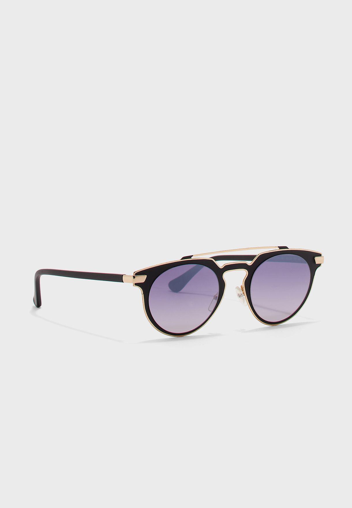 CK2147S Round Sunglasses