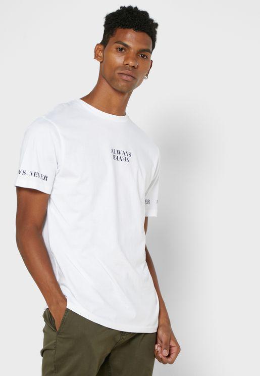 Always Never T Shirt