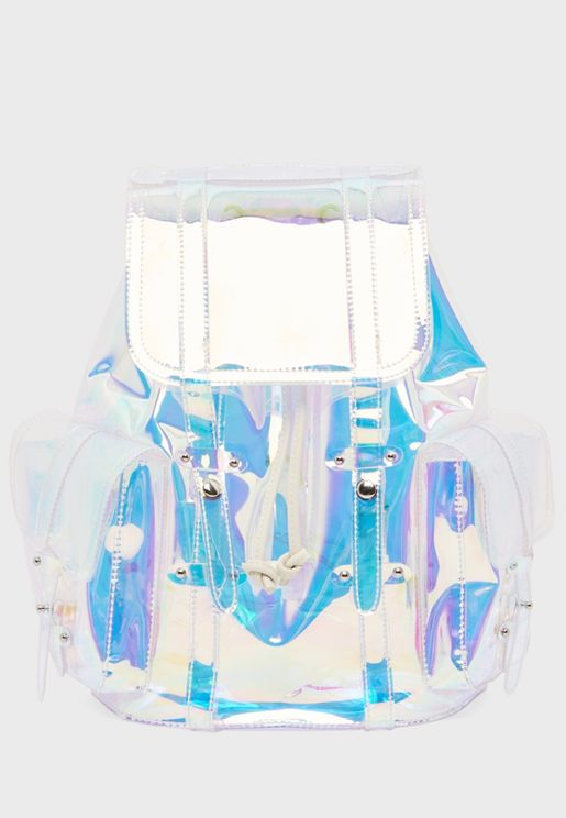 Transparent Detail Backpack