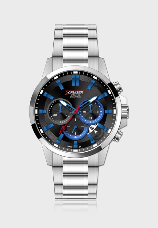 Band Chronograph Analog Watch