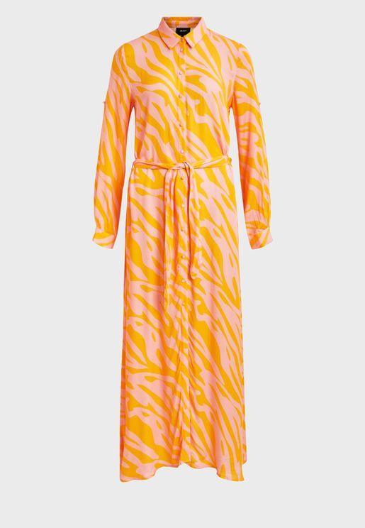 فستان بازرار امامية
