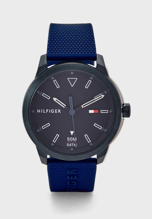 1791621 Silicone Strap Analog Watch
