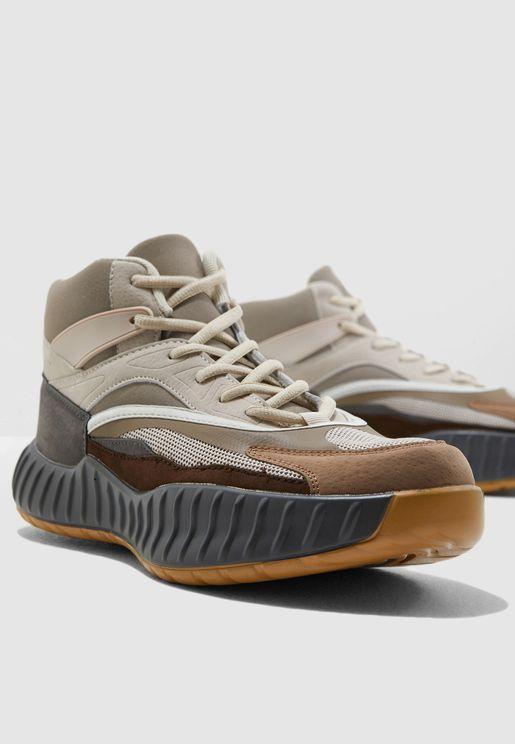 sale retailer 07a8e bd1cf Chunky High Top Sneakers