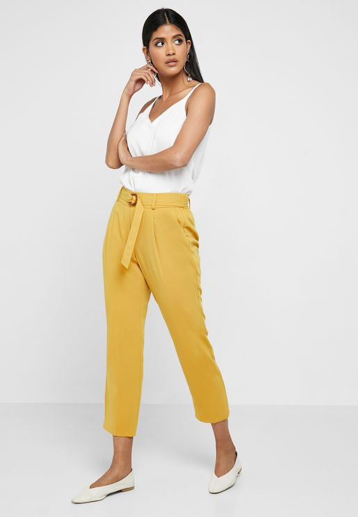 Ring Belted Pants