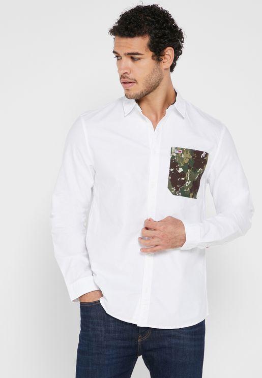 Patch Pocket Regular Fit Shirt