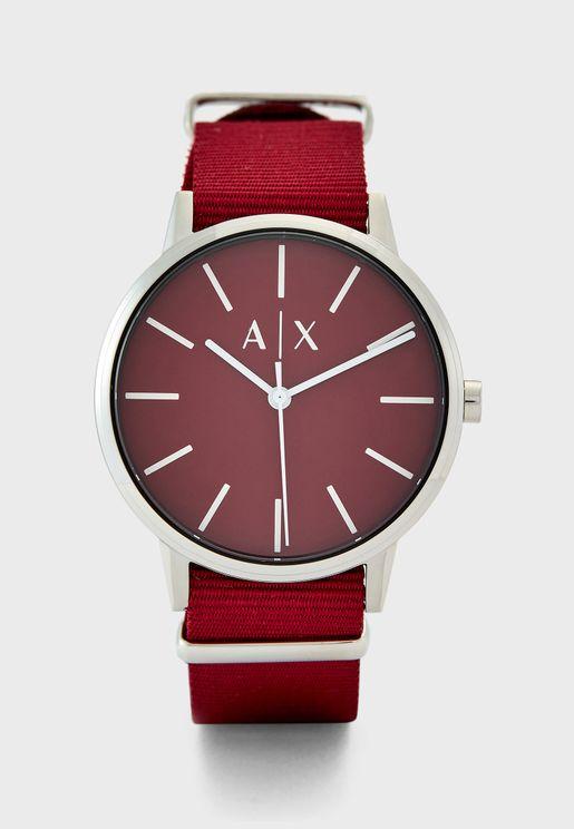AX2711 Analog Watch