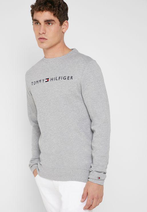 Essential Logo Print Sweatshirt