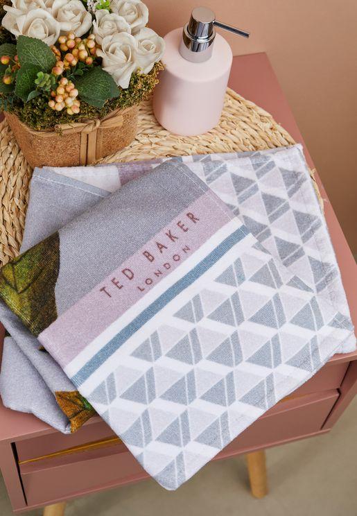 Floral Hand Towel 50x90cm