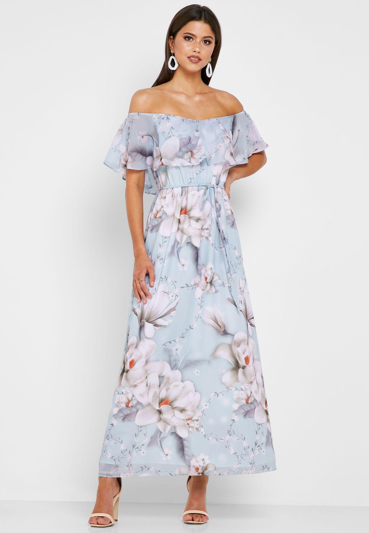 4c287ce4333b Shop Dorothy Perkins prints Bardot Maxi Dress 12715731 for Women in ...