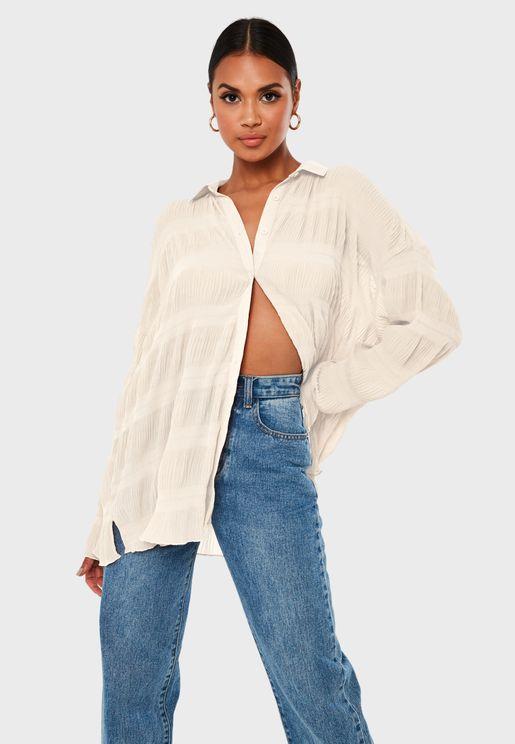 Button Down Oversized Shirt