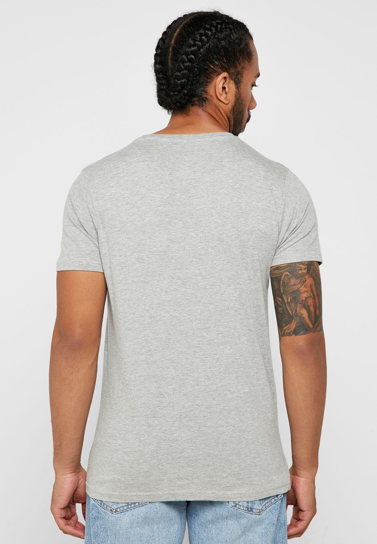 Wolf Badge Crew Neck T-Shirt