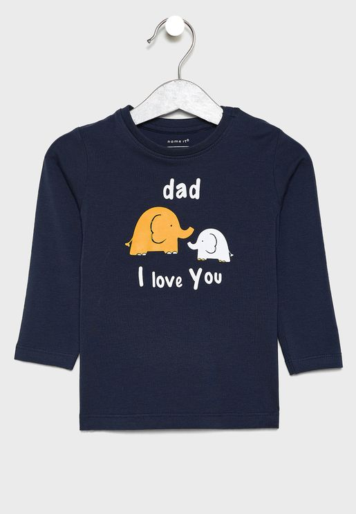 Infant Elephant T-Shirt