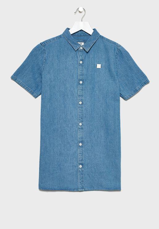 قميص جينز للاطفال