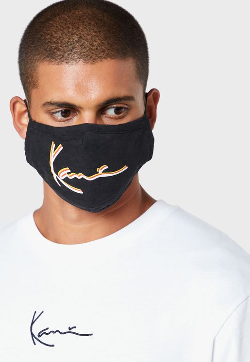 Triple Signature Face Mask