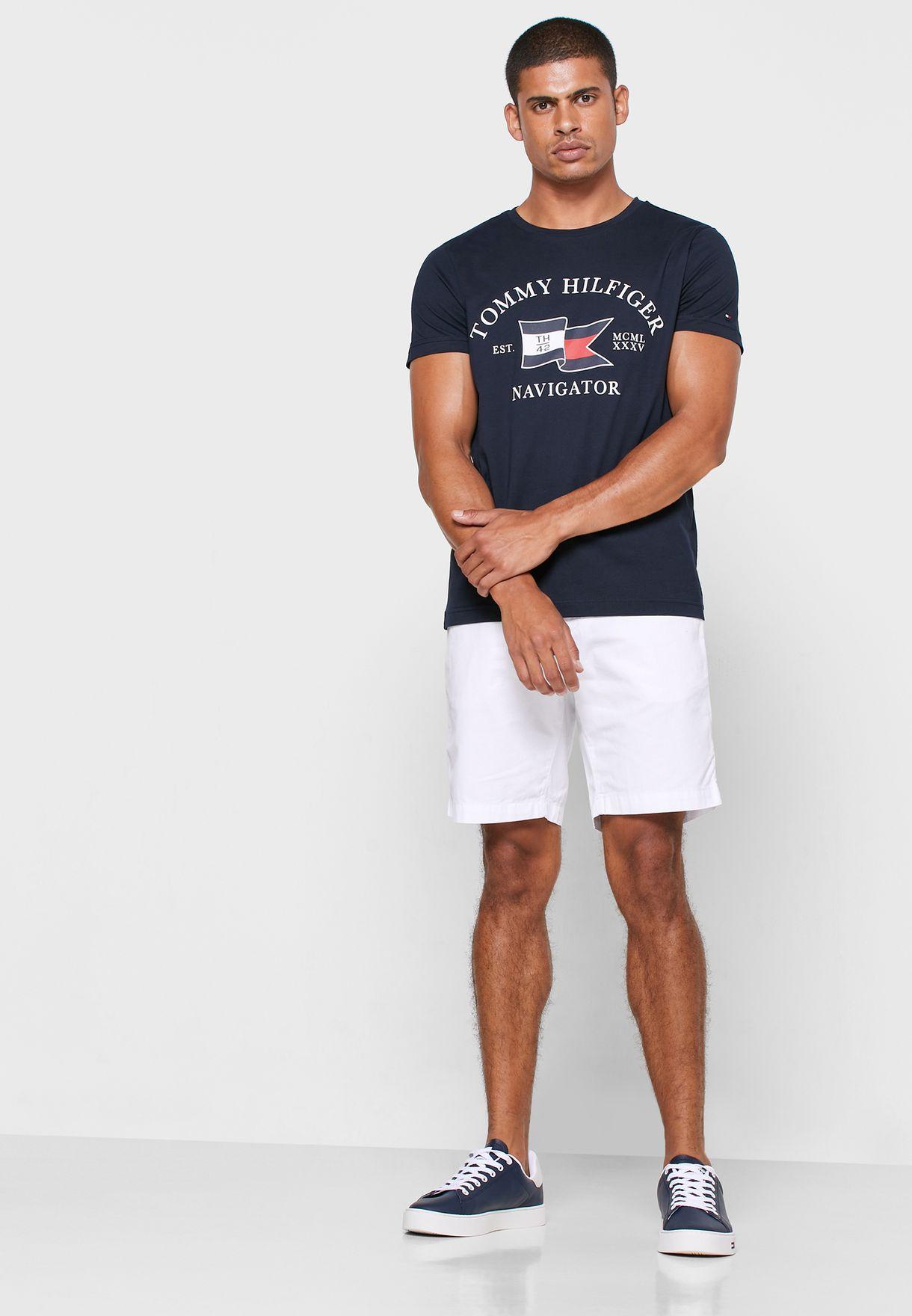 Folded Flag Crew Neck T-Shirt