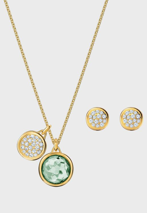 Tahlia Pendant Necklace+Earrings Set